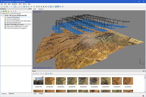 3D processing using advanced mapping software